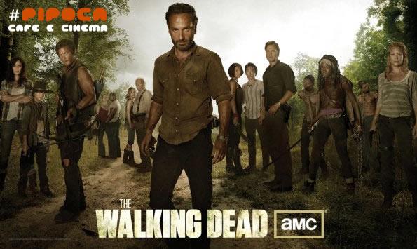 The Walking Dead 3ª Temporada pipoca cafe e cinema