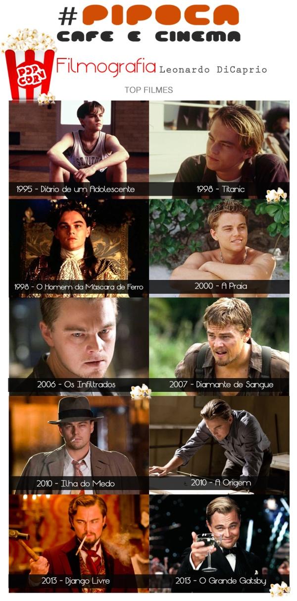 Top Filmes Leonardo DiCaprio